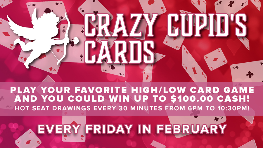 Crazy Cupid's Cards