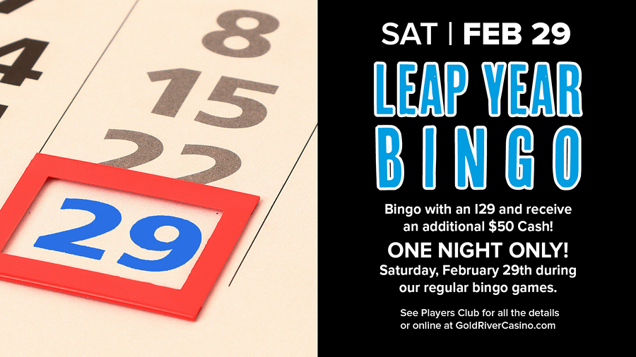 Leap Year Bingo